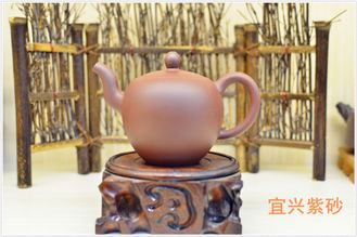 Purple Clay Yixing Zisha Teapot Home Use Eco - Friendly 180ml SGS Certification