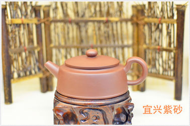 Handmade Purple Sand Teapot  , 180cc Yixing Clay Teapot Eco - Friendly